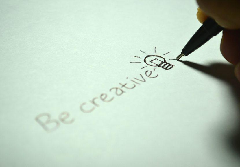 pismo, dłoń, kreatywność, pióro.