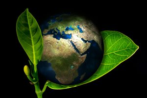 ziemia, glob, listek
