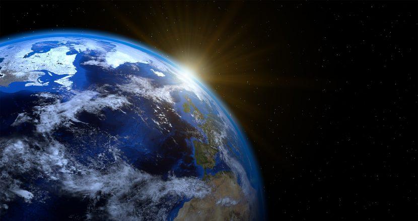 ziemia, glob, kosmos