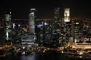 miasto, państwo, singapur.